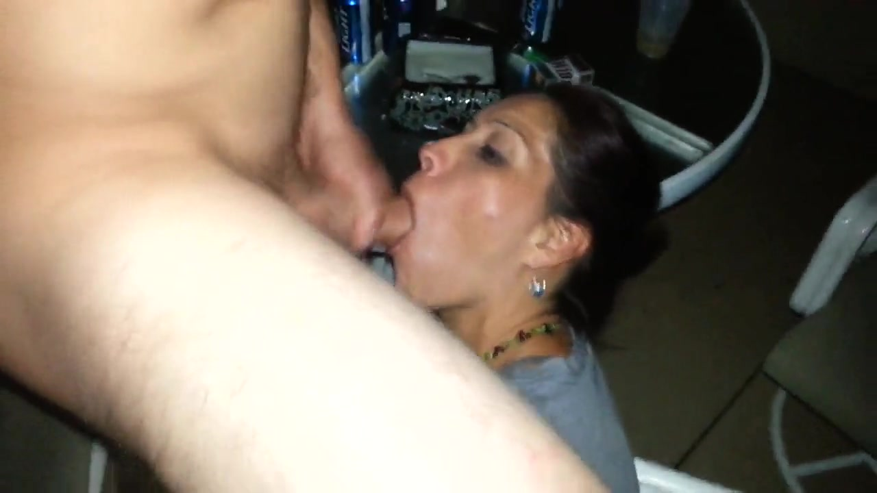 Shared Wife Sucking Cock