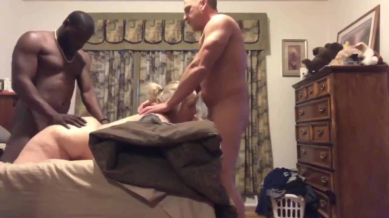 Husband Films Wife Black
